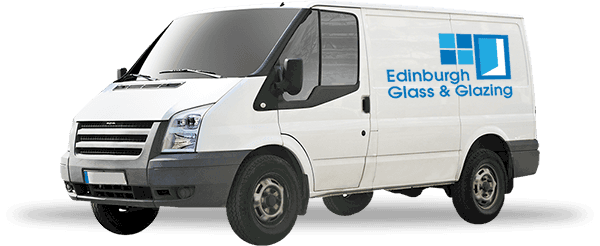 Edinburgh Glass van
