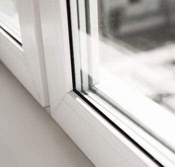 white plastic upvc windows edinburgh