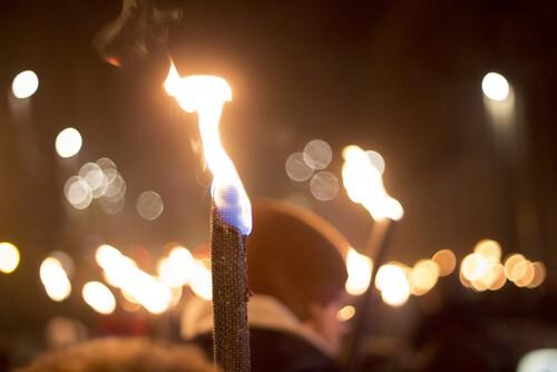 torchlight procession hogmanay