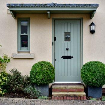 rustic style door